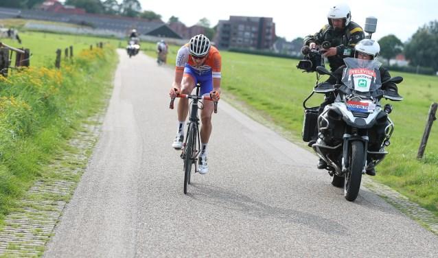 Vorig jaar maakten vier tv-stations opnamen van van de Ronde van de Achterhoek. Foto: sportfoto.nl / Dick Soepenberg