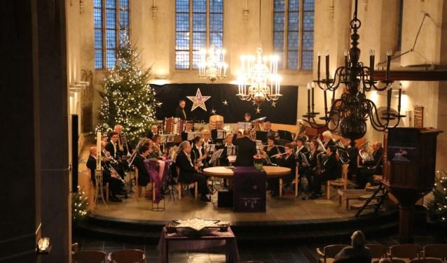 Harmonie Prinses Juliana in de Lambertikerk. Foto: PR