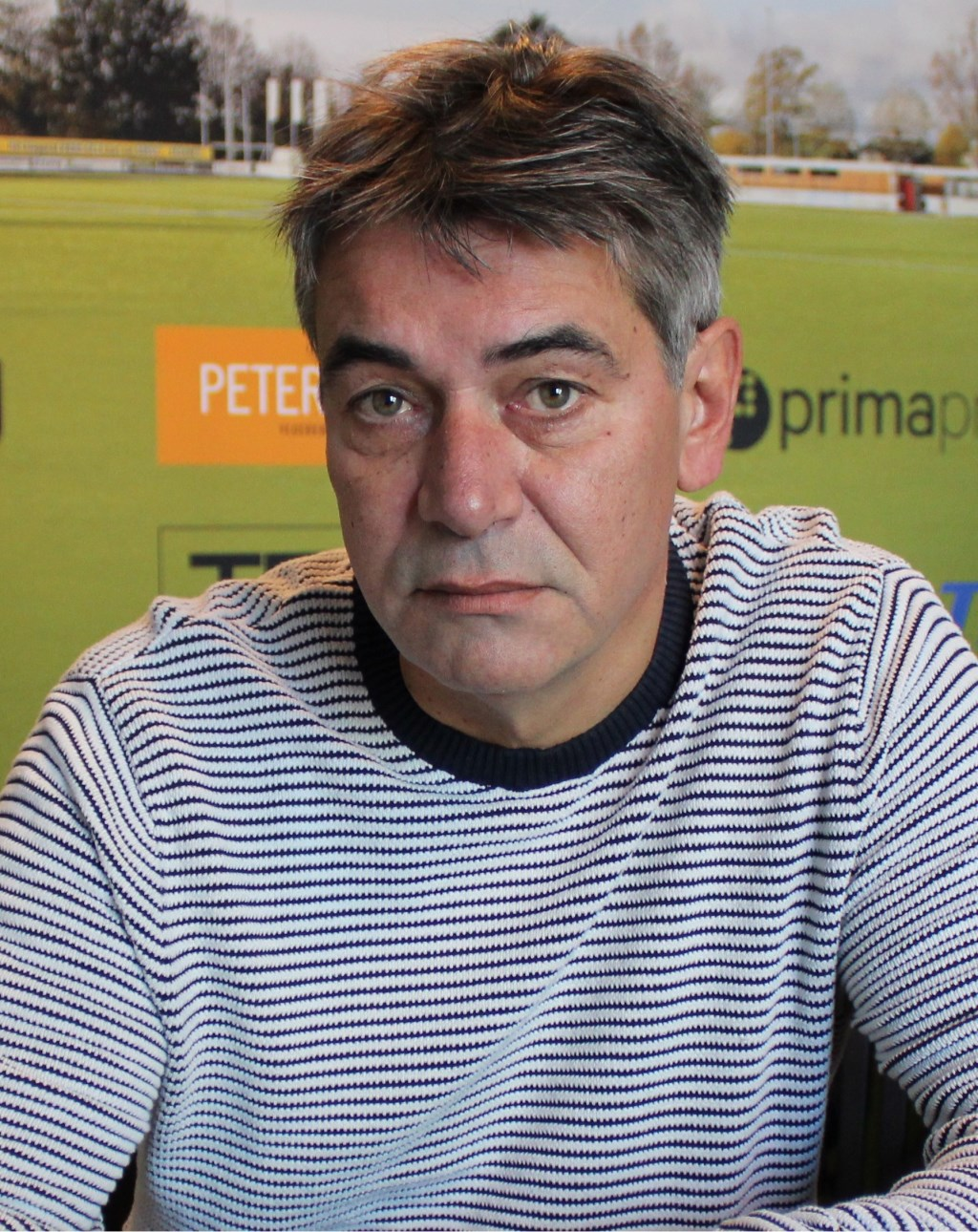 SDOUC-trainer John Neijenhuis: 'Ik ga er elke zondag vanuit dat we de wedstrijd winnen.' Foto: John van der Kamp  © Achterhoek Nieuws b.v.