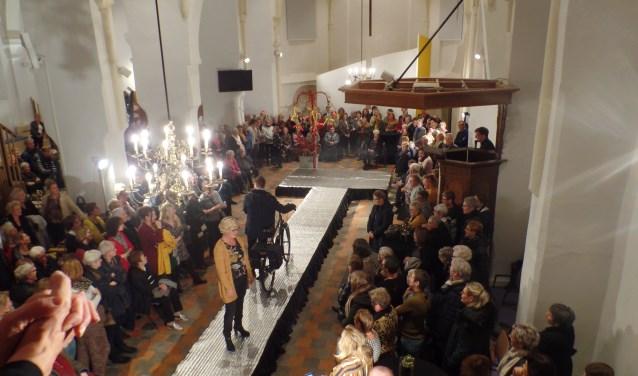 Naast de nieuwste mode werden ook onder meer de nieuwste trend op fietsgebeid gepresnteerd. Foto: Jan Hendriksen.