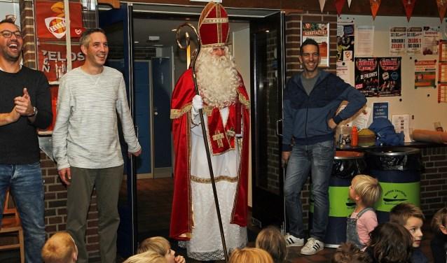 Sinterklaas kwam op bezoek bij Zelos onder 9. Foto: PR