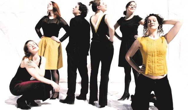 Het Coco Collectief is een vocaal ensemble van vijf klassiek geschoolde zangeressen. Foto: Maurice Lammerts van Bueren