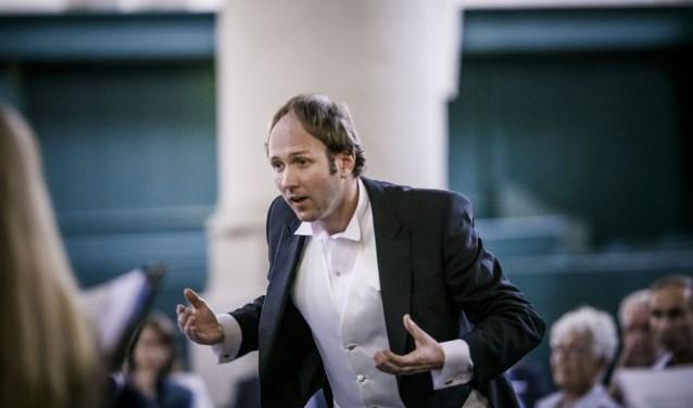 Chef-dirigent Patrick van der Linden van Ars Musica. Foto: PR