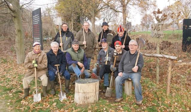 De groep 'planters'. Foto: Frank Vinkenvleugel