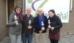 Winnaars mixed dubbel. Foto: PR.
