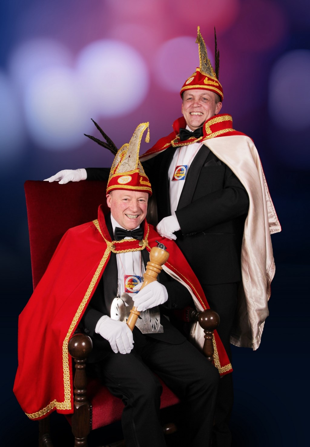 Prins Ewald en adjudant Wim. Foto: Maarten Kooiker