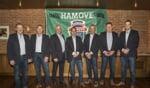 Het bestuur van de Hamove. Foto: Roderick Kreunen