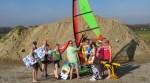 De beachcommissie van volleybalvereniging WIK. Foto: PR
