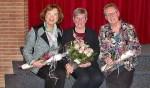 Vlrn: mevrouw Ina Wensink, mevrouw Ina Kruisselbrink en mevrouw Ans Wiggers. Foto: PR