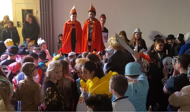 Carnaval op De Vlier met Bektas en Emirhan. Foto: PR