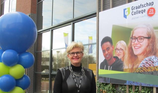 Sarien Shkolnik: 'Vijf van onze opleidingen hebben het predicaat TOP'. Foto: Bert Vinkenborg