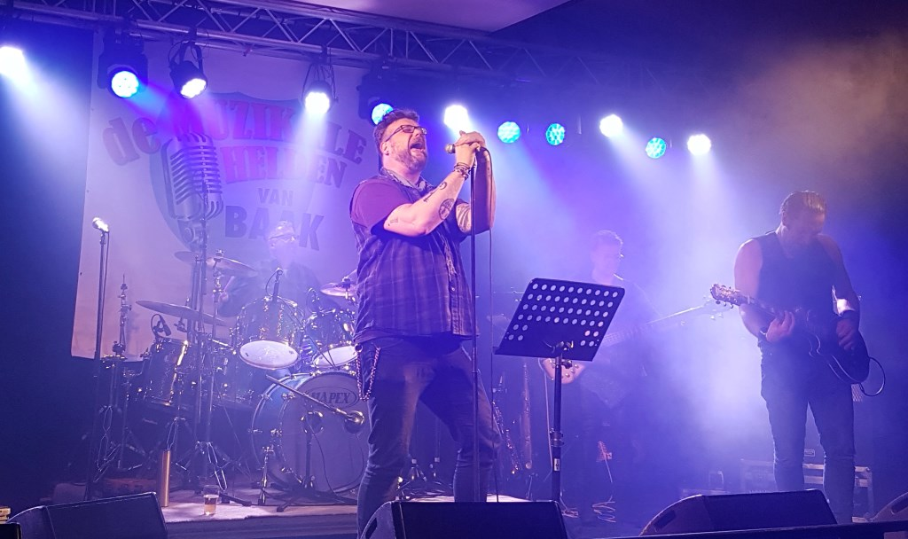 Michel van der Krabben is een van de  Muzikale Helden van Baak. Foto: Alice Rouwhorst