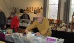 Zondag 11 maart gaat het boekenseizoen weer van start met een beurs in De Koppelkerk. Foto: Leo van der Linde
