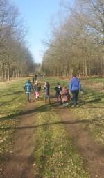 Maar liefst 780 wandelaars namen deel aan de achste Winterwandeling van de Stichting de Lindesche Molen. Foto: PR.