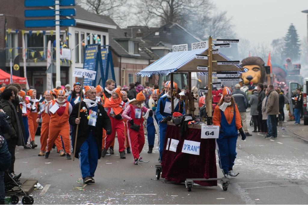 D'Ran in de optocht. Foto: AchterhoekFoto/Henk den Brok  © Achterhoek Nieuws b.v.