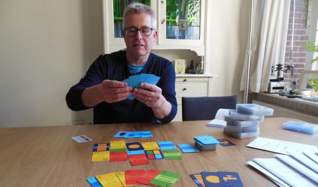 """Ron Hendriksen: """"Het spel 'Rivero' biedt veel variatie en wisselende winstkansen."""" Foto: Eric Klop"""