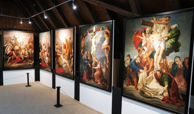 Unieke Expositie Van Veertien Kruiswegstaties Groenlose Gids