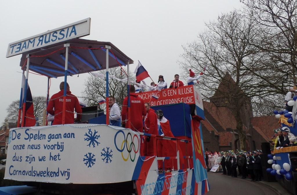 Team Russia Foto: Henri Walterbos © Achterhoek Nieuws b.v.