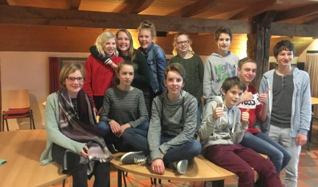 Het Steenderense Sirkelslag-team. Foto: PR