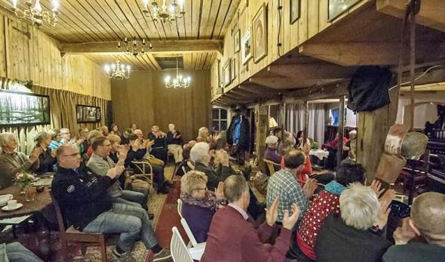 Open Podium bij Ankomm'n. Foto:  Anita Duenk