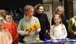 Talie Wijlens en Thirsa van der Kieft tijdens één van de activiteiten van Prikkelz. Foto: Kyra Broshuis
