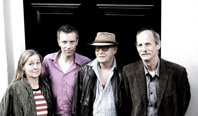 Hans Driesten 4 Blues band. Foto: Queen Elien