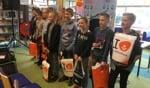 Deelnemers aan de kwartfinale in Eibergen, 3e van rechts winnaar Estre Clark uit Neede. Foto: Rieta van der Linde