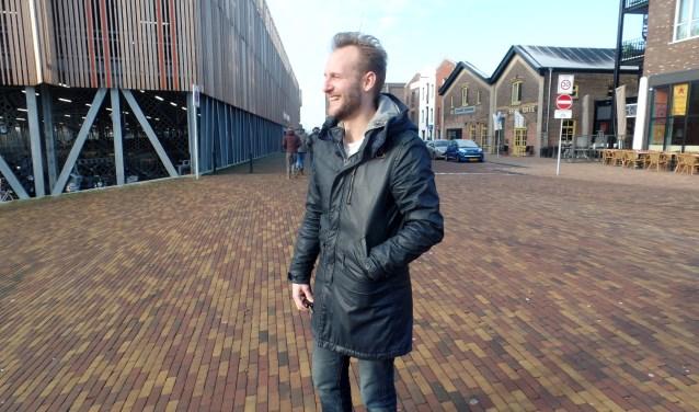 Mans van den Berg is alweer bezig met een nieuwe film. Foto: Meike Wesselink