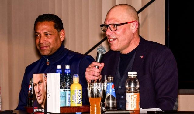 Henk Fraser en Gert Jacobs (rechts). Foto: Evert Braakhekke