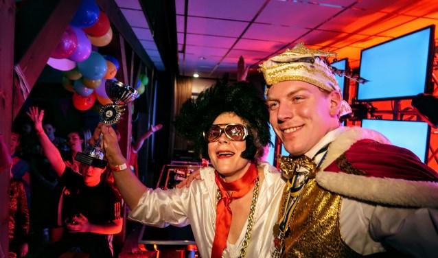 Prins Sil verkoos zijn moeder Gerda – Elvis – te Stroet tot best verklede Keidarper. Foto: Luuk Stam