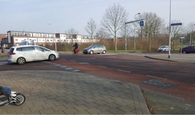 Kruising Jan Vermeerstraat/Gerard Doustraat. Foto: Mathieu Jaspers