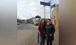 Bianca Wessels (r) en Jessie Bol van de Stichting Tussenstaphuis. Foto: Rob Weeber