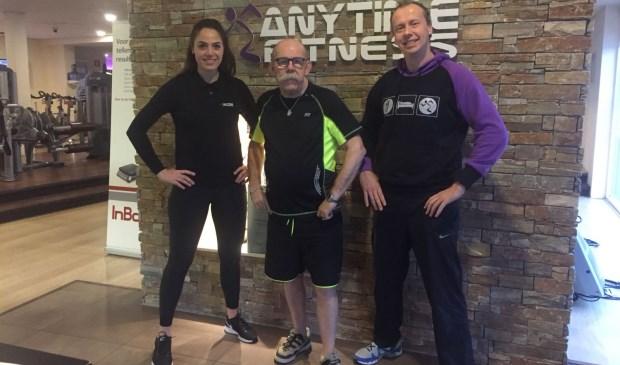 Sterre van Doorn, Jan Pelle en Martijn Lievestro. Foto: PR Anytime Fitness