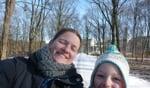 Astrid en Tamara. Foto: Astrid Wensink.