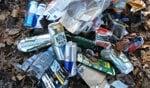 Ook vorig jaar werd er een grote berg afval ingezameld. Foto: PR