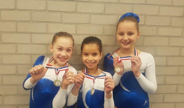 Sanne, Silver & Anissa eindigen op de eerste plaats. Foto: PR