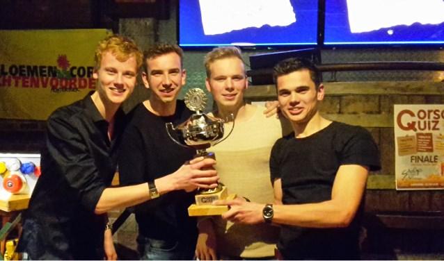 Winnaars CorsoQuiz 2017. Foto: PR
