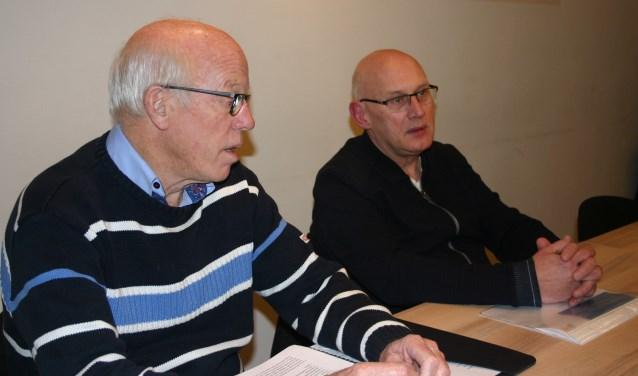 De fusie ligt op schema wisten Otto Duursma en Jan Kempers te melden.  Foto: Jan Knoef