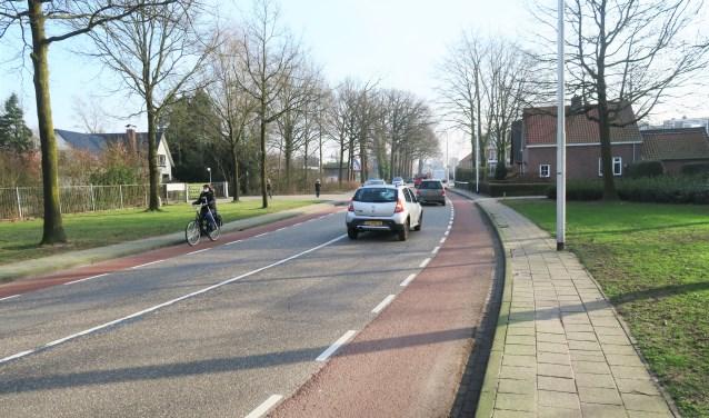De Borculoseweg in Groenlo ondergaat dit jaar een herinrichting. Foto: Theo Huijskes