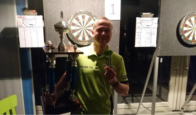 Met eengrote wisselbeker op zak, is Daniël Menkveld de eerste deelnemer voor Grand Slam Of Pax Editie 2019. Foto: PR