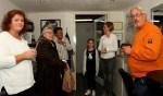 Voor de bezoekers had Wilma Boer een drankje en een hapje. Foto: Liesbeth Spaansen
