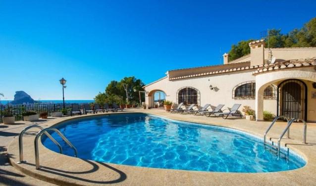 Huis met zwembad en zeezicht. Foto: PR