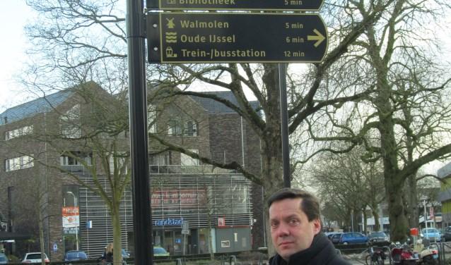 Wethouder Bulten: 'We hebben een serie pareltjes die je aaneen kunt rijgen.' Foto: Bert Vinkenborg