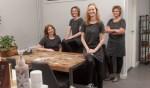Het team van Salon Melanie. Foto: PR