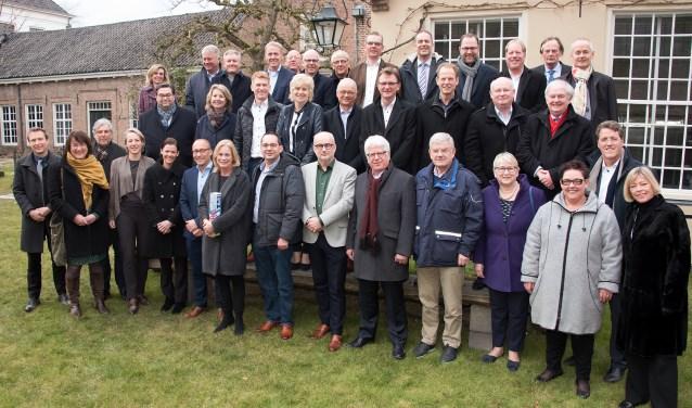 Afgelopen week bezochten 40 burgemeesters Zutphen. Foto: PR