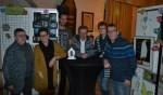 De organisatie van Nacht naar Licht, vlnr Netty Klomp, Susan te Paske, Dennis van de Giessen, Wim Ruessink, Joke Droppers, Theo Parmentier. Foto: Leander Grooten