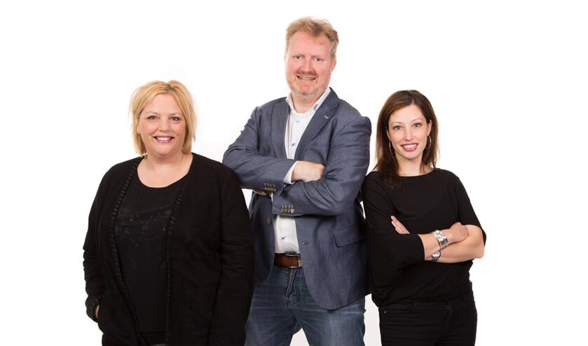 Het team van Scheiden doe je samen. Foto: PR