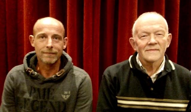 Robert van der Meij en Gerrit Hoftijzer, bestuursleden Stichting Buurtschapshuus Heelweg. Foto PR