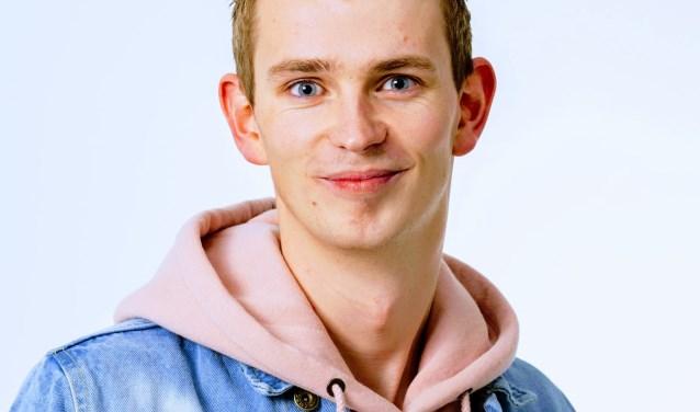 Zutphense SP-lijsttrekker Mathijs ten Broeke. Foto: PR