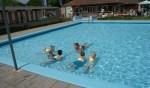 De zwemlessen gaan binnenkort weer beginnen. Foto: Jan Oostland